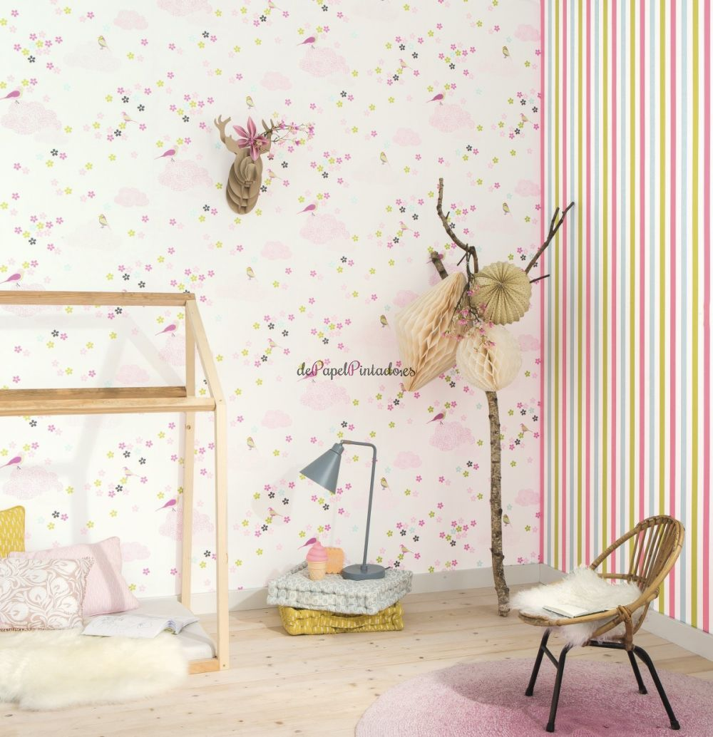Colowall papel pintado colowall papel pintado colowall for Papel tapiz infantil